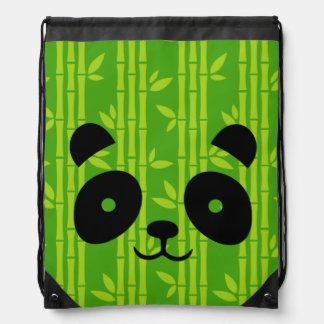 panda_bamboo drawstring bag