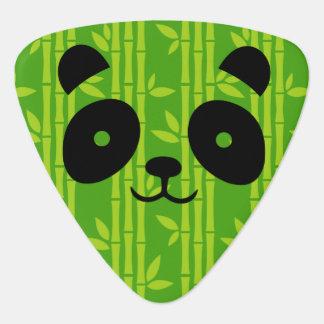 panda_bamboo guitar pick