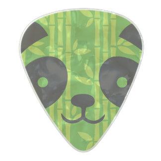 panda_bamboo pearl celluloid guitar pick