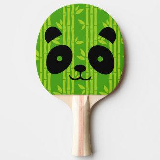 panda bamboo ping pong paddle