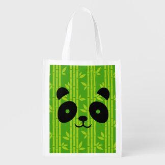 panda_bamboo reusable grocery bag