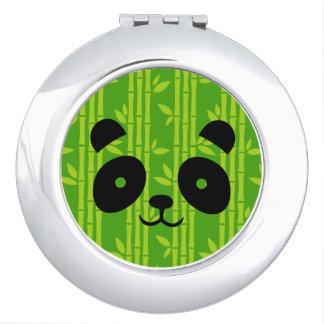 panda bamboo travel mirror