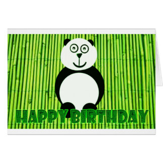 Panda-bday-card.jpg Greeting Card