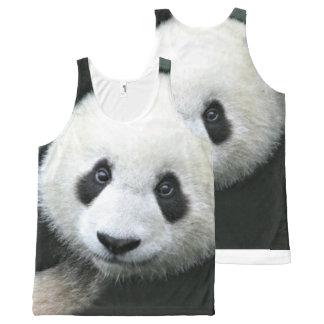 Panda Bear All-Over-Print Tank Top