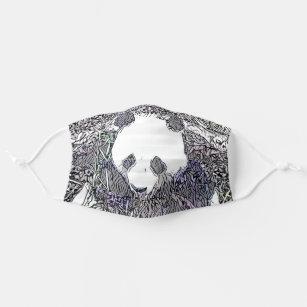 Panda Bear Art Cloth Face Mask
