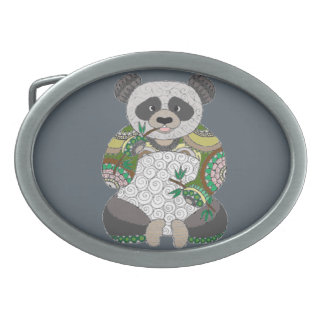 Panda Bear Belt Buckles
