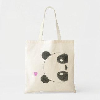Panda Bear Budget Tote