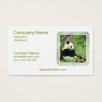 Panda Bear Business Card