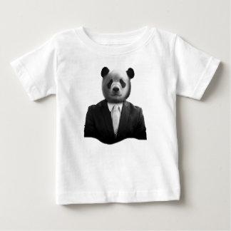 Panda Bear Business Suit Baby T-Shirt