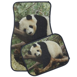 Panda Bear Car Mat