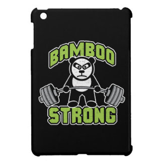 Panda Bear Cartoon - Bamboo Strong - Deadlift Case For The iPad Mini