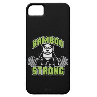 Panda Bear Cartoon - Bamboo Strong - Deadlift iPhone 5 Cases
