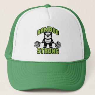 Panda Bear Cartoon - Bamboo Strong - Deadlift Trucker Hat