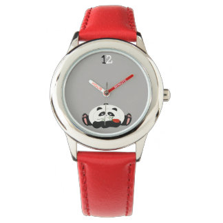 Panda Bear Cartoon Cute Funny Romantic Nostalgic Watch