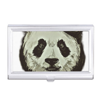 Panda Bear Case For Business Cards