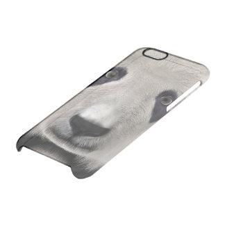 Panda Bear Clear iPhone 6/6S Case