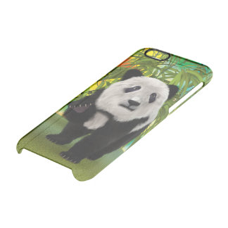 Panda Bear Clear iPhone 6/6S Case