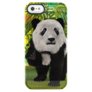 Panda Bear Clear iPhone SE/5/5s Case