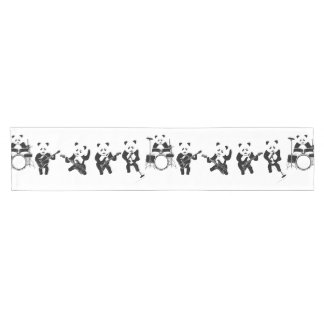 Panda Bear Cute Band Short Table Runner