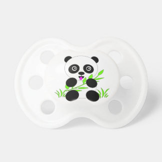 Panda Bear Design Gifts and Accessories Pacifier