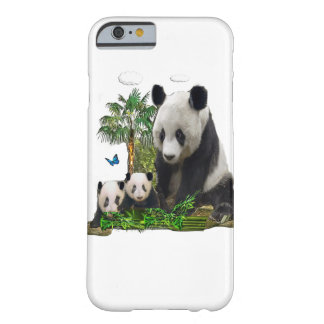 Panda bear designs barely there iPhone 6 case