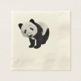 Panda Bear Disposable Napkins