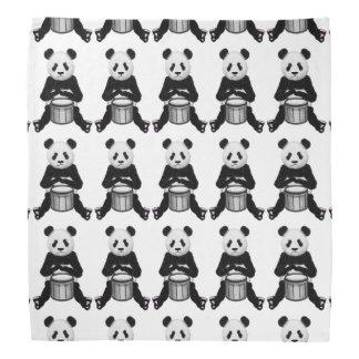 Panda Bear Drum Illustration Do-rags