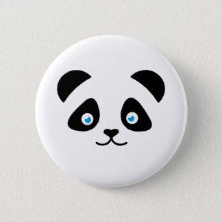 panda bear face 2 inch round button