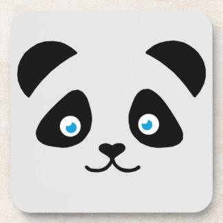 panda bear face coaster