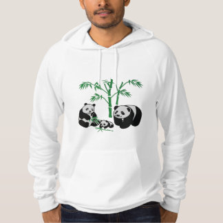 Panda Bear Family Hoodie