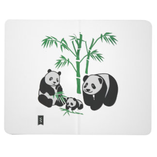 Panda Bear Family Journals