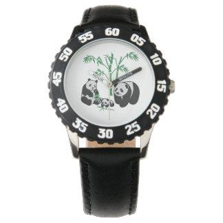 Panda Bear Family Wristwatches