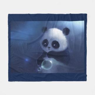 Panda Bear Fleece Blanket