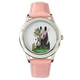 Panda bear gifts wrist watch