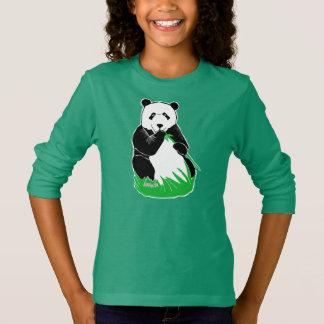 Panda Bear Girls' Long Sleeve T-Shirt