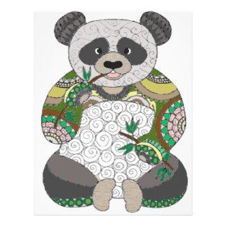 Panda Bear Letterhead