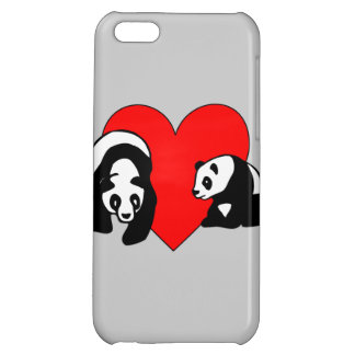 Panda Bear Love Case For iPhone 5C