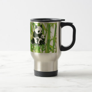 Panda Bear Love for her Baby Travel Mug