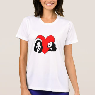 Panda Bear Love T-Shirt