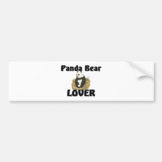 Panda Bear Lover Bumper Sticker