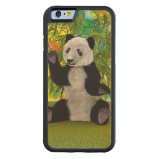 Panda Bear Maple iPhone 6 Bumper Case