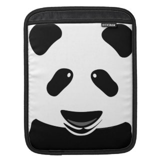 Panda Bear Modern iPad Sleeves