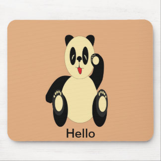 Panda Bear Mouse Pad