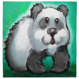 Panda Bear Napkin