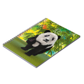 Panda Bear Note Books