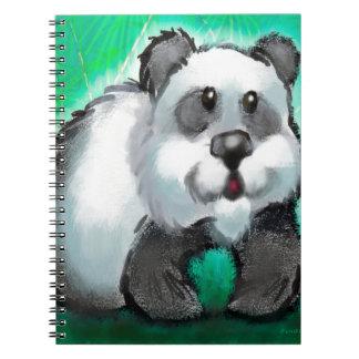 Panda Bear Notebooks