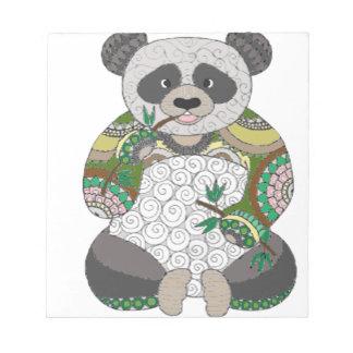 Panda Bear Notepad