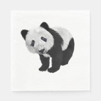 Panda Bear Paper Napkins