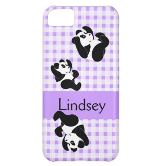 Panda Bear Pattern iPhone 5C Case
