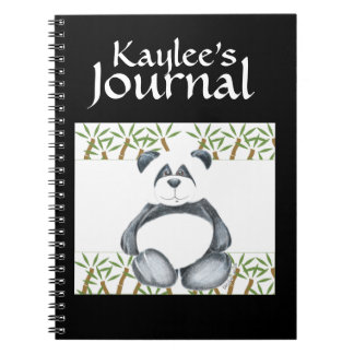 Panda Bear Picture Notebook